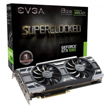 EVGA GeForce GTX 1080 SuperClocked 8 Go